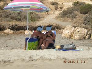 spiaggia e telefonini