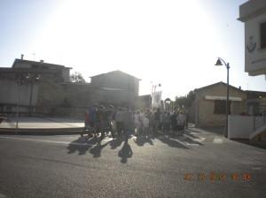 Mini paese, mini processione!