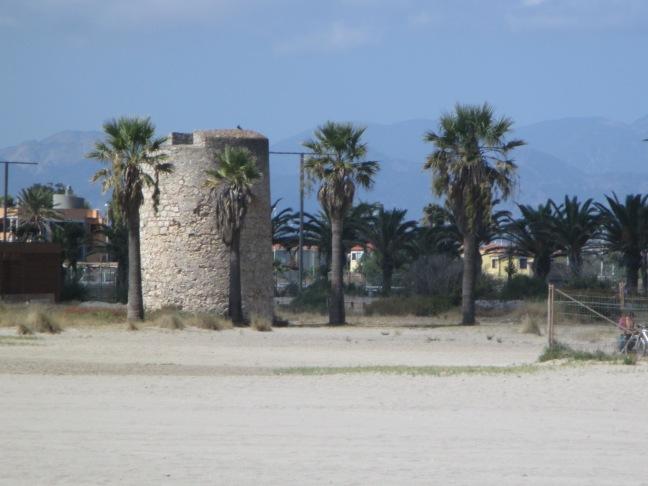 Torre sulla spiaggia