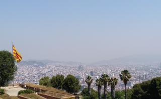 Barcellona vista da Castello del Montjuic