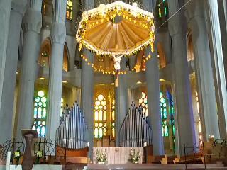 Barcellona. Altare della Sagrada Famiglia.