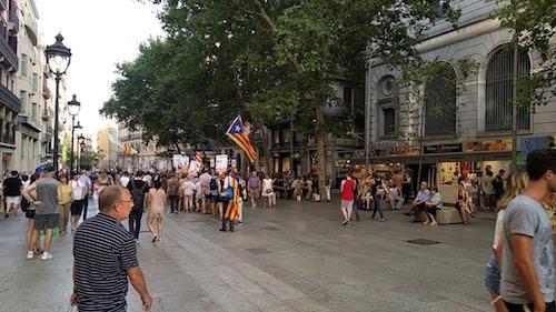 L'indipendentismo catalano è sempre vivo.
