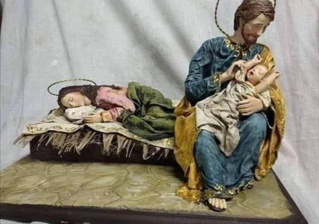 Presepe: Facciamo riposare mamma