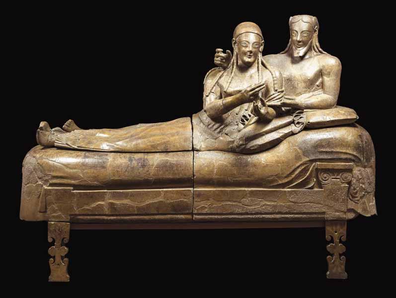 Sarcofago degli sposi - Museo Nazionale di Villa Giulia Roma